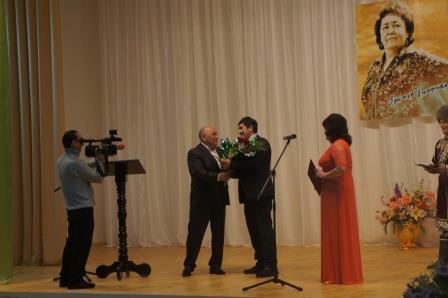 Церемония вручения районной литературной премии имени Зайнаб Биишевой