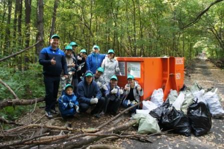 Коллектив НЛМ РБ принял участие в едином Всероссийском экологическом субботнике «ЗЕЛЕНАЯ РОССИЯ»