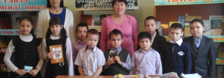 C 1 декабря в Сафаровской школе Миякинского района работает выставка музея Мифтахетдина Акмуллы