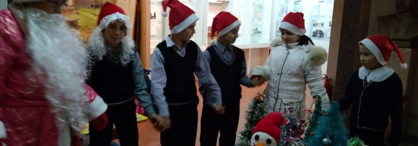 23 декабря в музее М.Уметбаева был организован новогодний вечер «В гостях у Дед Мороза»