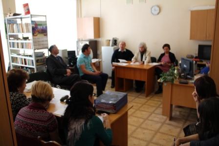 1 марта вНЛМ РБ состоялосьсовещаниес заведующими филиалов