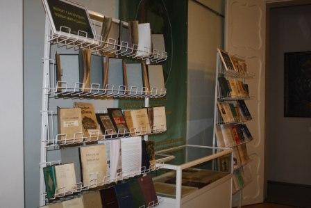 22 марта в Мемориальном доме-музее Мажита Гафури открылась книжная выставка «Творчество М.Гафури. Исследователи творчества М.Гафури»