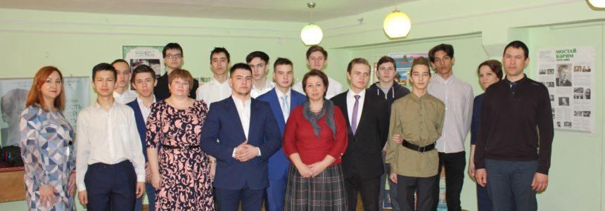 Сотрудники НЛМ РБ приняли участие в мероприятии «Мостай Кәрим – беҙҙең йөрәктәрҙә» Уфимского автотранспортного колледжа