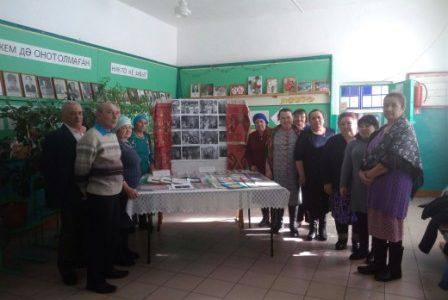 7 марта музей Мухаметсалима Уметбаева — филиал НЛМ РБ организовал в СДК д. Бишаул-Унгарово выездную выставку поделок «Энергия таланта»