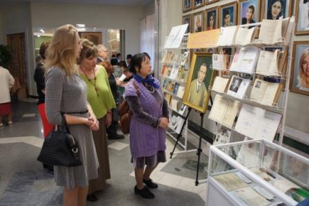 НЛМ РБ организовал выставку к 100-летию Гали Ибрагимова в Уфимском государственном татарском театре «Нур»