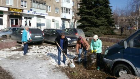 Cотрудники НЛМ РБ и его филиалов приняли активное участие в экологическом субботнике «Зеленая Башкирия»