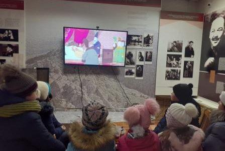 В музее А. Мубарякова – филиале ГБУКИ НЛМ РБ был организован «МУЛЬТПАРАД В МУЗЕЕ!»