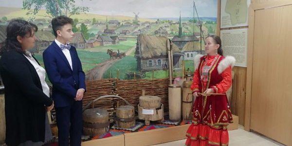 В музее Ш.Бабича прошла съемка интернет-занятия