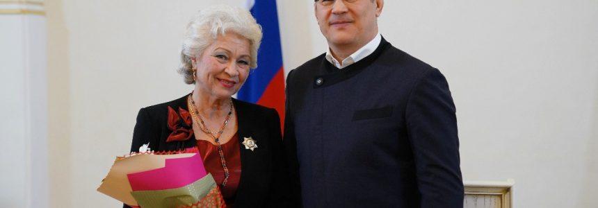 Директор НЛМ РБ Гульдар Сабитовна Муратова удостоена ордена Салавата Юлаева