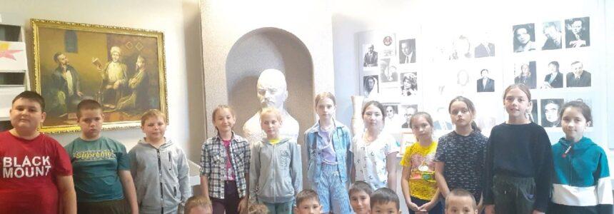В музее М.Акмуллы – филиале НЛМ РБ была прочитана лекция «Батыр с мечом и песней»